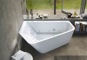 angular tub is no longer limited to corner spaces retrofit