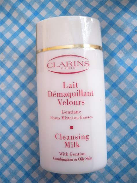Cleansing Milk 60ml clarins cleansing milk with gentian for combination