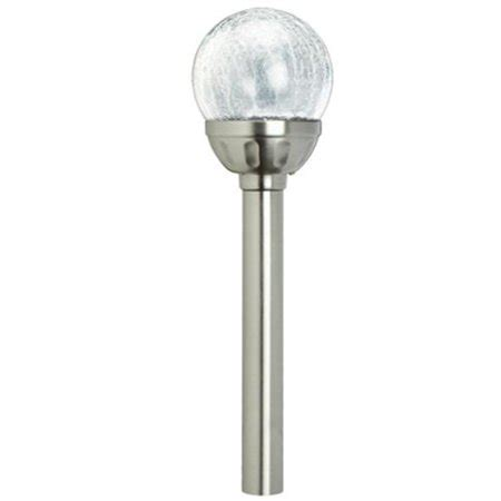 westinghouse mini solar holiday christmas garden outdoor pathway light westinghouse mini crackle solar outdoor led garden stake path light walmart