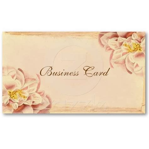 shabby chic pink rose business cards pink pinterest