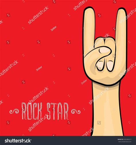 vector doodle sign vector doodle sign rock n roll on white rock n