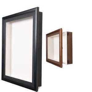 shadow box frame 16 quot x 20 quot x 2 quot wood frame shadow box w melamine back