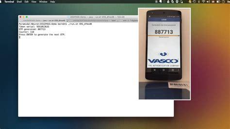 vasco token hitbgsec replicating a vasco digipass token instance