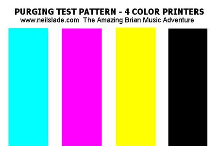 color pattern quiz yellow ink not printing after testing print quality no