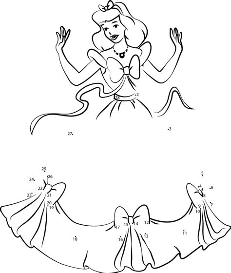 barbie printable dot to dot dancing barbie dot to dot printable worksheet connect