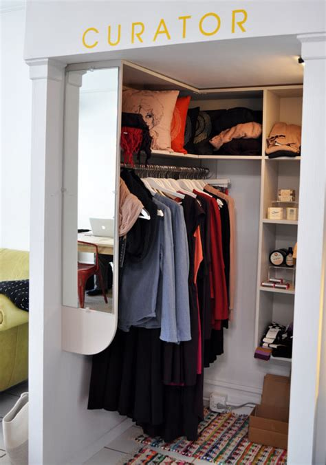 Pop Up Closet by Tuesday S Makeshift Society Supply Closet Sfgirlbybay