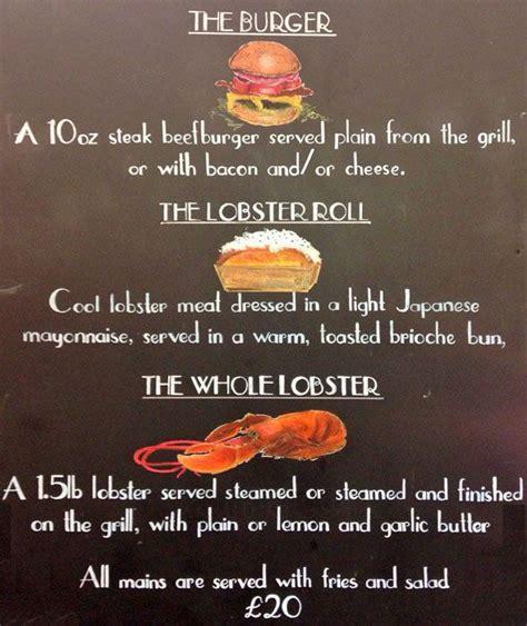United Change Fee by Burger Amp Lobster Menu Menu For Burger Amp Lobster Soho