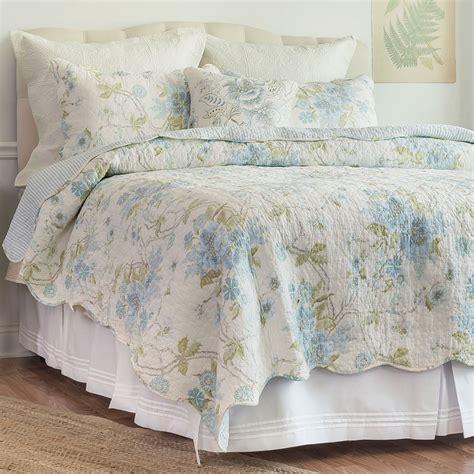 Floral Coverlet Jesamine Floral Quilt Bedding