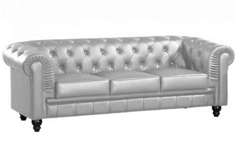 Canapé Convertible Chesterfield by Canap 233 Chesterfield Convertible 3 Places Ciabiz