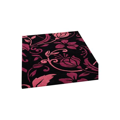 Pink Black Rug by Infinite Damask Black Pink Rug Only Available At Carpet