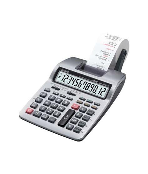 Casio Hr 100 Tm Kalkulator Print casio printing calculator hr 100tm fp media