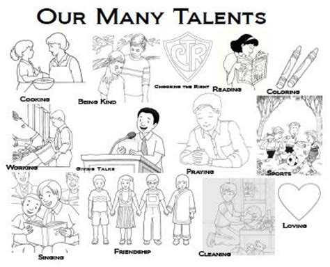 parable of the talents coloring page click here to open