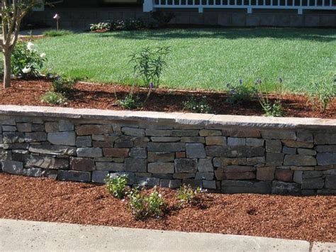Rock Retaining Wall Retaining Wall Garden