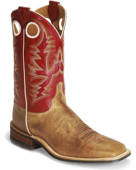 mens cowboy boots ebay justin s bent rail cowboy boot wide square toe br358
