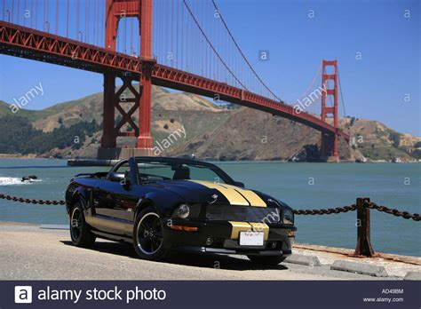 ford mustang rental san francisco ford mustang shelby gt h rental at the golden gate bridge