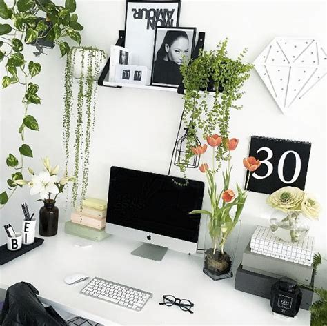 office plant decoration kl 25 best ideas about white office decor on pinterest
