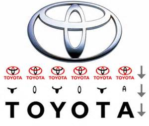 Toyota Logo Spells Toyota 15 Company Logos With Meanings