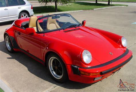 1989 porsche speedster for 1989 porsche 911 speedster