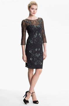 patra beaded illusion floral dress special occasion dresses on