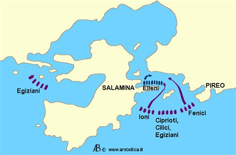 battaglia navale tra greci e persiani battaglia di salamina le grandi battaglie della storia