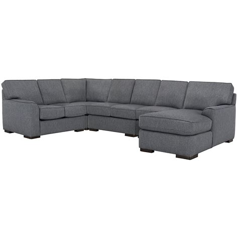 large chaise sectional city furniture austin blue fabric large right chaise