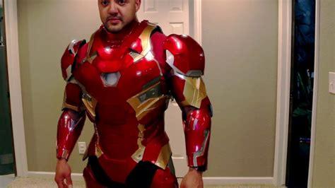 finally iron man mk costume youtube