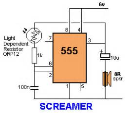 light dependent resistor table 47 projects to do with a 555 all