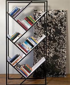 Bookcase With Slanted Shelves 25 Modern Shelves To Keep You Organized In Style