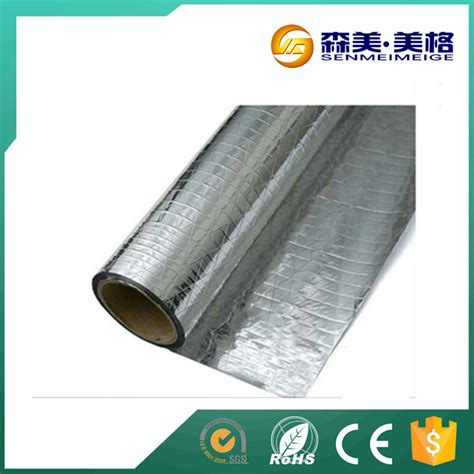 Aluminium Foil Single Sided Brand Polyfoil sided thermal heat reflective radiant barrier