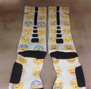 Custom nike elite socks quot emojis quot 183 sock insanity 183 online store
