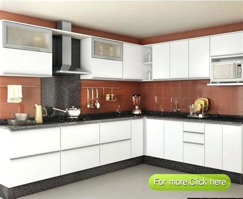 Download L Shape Modular Kitchen Cabinets 3d Model Kitchen Furniture India