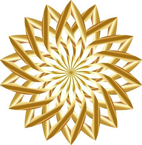 Gorden Lotus Clipart Golden Lotus No Background