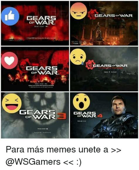 Gears Of War Meme - gears onar gears gearsofwar gears pess to start gears of