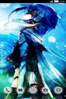 anime themes for android anime fighter blue android theme htc theme mobile toones