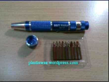 Obeng Segitiga obeng handphone model pulpen 9 in 1 plentiswae