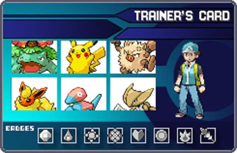 make a trainer card trainer id card by x hog on deviantart