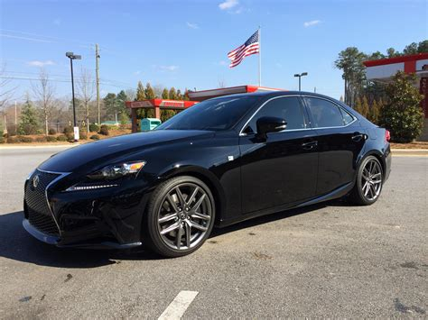 lexus is350 lowered lowering springs is 350 f sport 2013 lexus forums