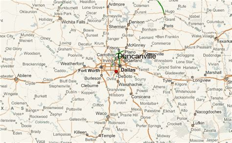 duncanville texas map duncanville location guide