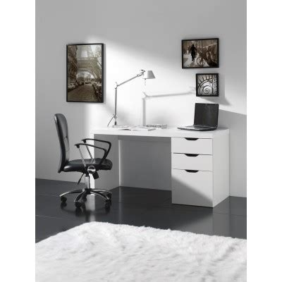 bureau atylia bureau design atylia bureau blanc avec tiroirs ben