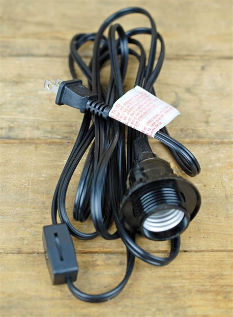 single socket black pendant lamp cord  lanterns ft