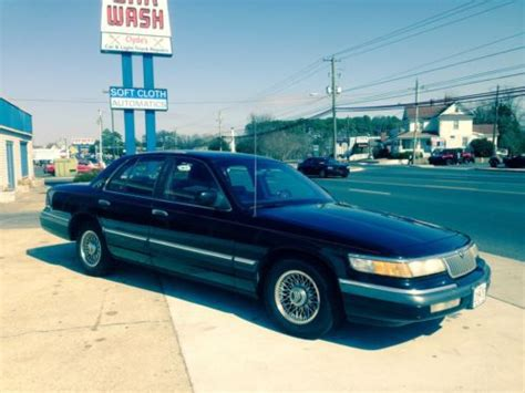how do i learn about cars 1993 mercury sable free book repair manuals sell used 1993 mercury grand marquis ls sedan 4 door 4 6l in salisbury maryland united states