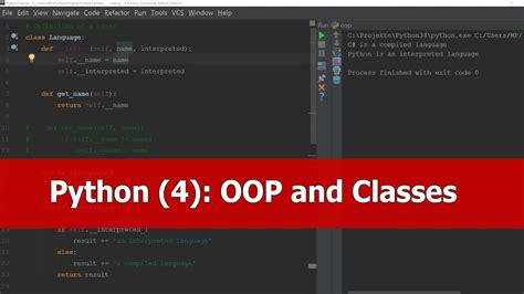 python tutorial on classes python tutorial oop classes youtube