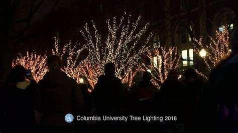 tree lighting 2016 columbia tree lighting ceremony 2016