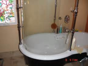 Claw Foot Tub Shower Enclosure by Shower For Clawfoot Tub Clawfoot Tub Shower Curtain Rod