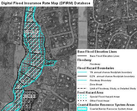 fema firm maps digital flood insurance map dfirm database for connecticut boundaries of flood insurance