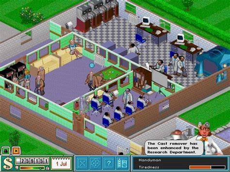 theme hospital list of rooms theme hospital a force for good