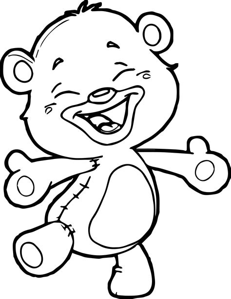 small bear coloring page printable little bear cartoon coloring pages for kids