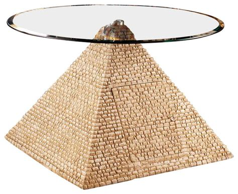 pyramid coffee table great pyramid of giza coffee table eclectic
