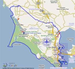 marin california map marin county marinas