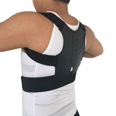 back brace aliexpress buy magnetic posture corrector orthopedic back support belt
